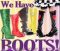 Costume Craze: 30% Off Girls Black Heart Boots
