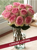 Organic Bouquet: Crown Majesty Roses $49.95