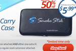 Smoke Stik: 50% Off Carry Case XL For Only $5.99