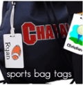 Label Your Stuff: Buy 5 Get 1 Free Sports Bag Tags