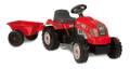 Bamba: 42% Rabatt Traktor RX Bull Röd, Smoby