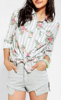 Urban Outfitters: $30 Off BDG Classic Printed Oxford Button-Down Shirt