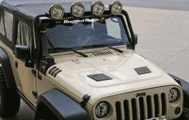 DriveOffroad: Performance Vented Hood, 07-14 Jeep Wrangler JK At $699.99
