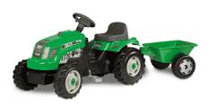 Bamba: 42% Rabatt Traktor RX Bull Grön, Smoby