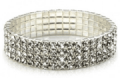 End Of Retail: $2 Off  25 Carat Swarovski Crystal Stretch Bracelet