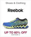 6PM: 60% Off Reebok Shoes & Clothing