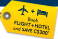 Expedia: C$300 Off Hotel + Flight