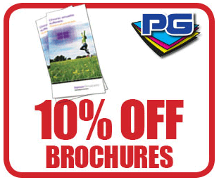 PGprint: 10% Off Brochures