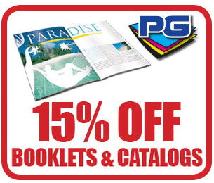 PGprint: 15% Off Booklets And Catalogs