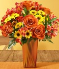 ProFlowers: Save 25% On Cinnamon Cider Roses With Bronze Vase