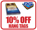 PGprint: 10% Off Hang Tags
