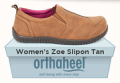 Houser Shoes: Women's Zoe Slipon Tan