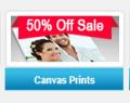 FedEx: 50% Off Canvas Prints