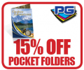 PGprint: 15% Off Pocket Folders
