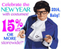 Costume Craze: New Years Eve Costumes 15% Off