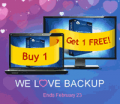 Acronis: Buy One Get One Free