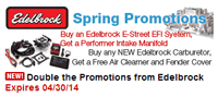 StreetSideAuto: Spring Promotions