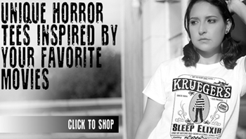 Five Finger Tees: Horror Shirts From $ 9.99