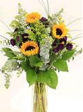 Organic Bouquet: Mixed Flowers