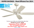 Hansen Wholesale: 52% Off  Most Efficient Fan 2014