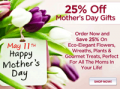 Organic Bouquet: 25% Off On Mother's Day Gifts