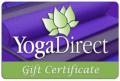 YogaDirect: Gift Certificate
