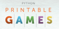 Click to Open Python Printable Games Store