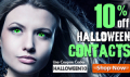 Discount Contact Lenses: 10% Off Halloween Contacts