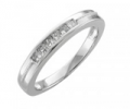 Diamond Delight: Men's Wedding Rings Starting At $19.99