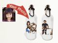 Flattenme: Custom Water Bottle Starring Your Child For $24.95