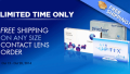 Discount Contact Lenses: Free Shipping Contact Lens Order