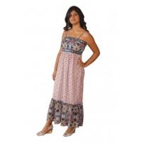 Wholesale Fashion Deals Online: Long Two Print Maxi Dress