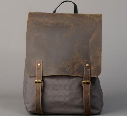 ForbesAndLewis: Shop Devon Backpack Khaki Grey