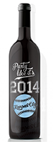 Manos Wine: 'Party Like It's 2014' Royals Etched Wine Bottle As Low As $40