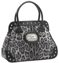 Rock Rebel: 42% Off GREY LEOPARD HANDBAG HB-25