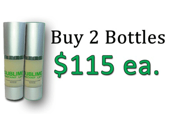 Get Sublime Instant Lift: Order Sublime Instant Lift 2pak For $230