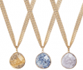 Sacred Jewels: Save On Trinity Chain Gemstone Necklace