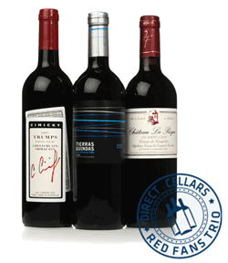 Direct Cellars: Join Red Fans Trio Club