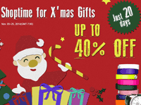 Focalprice: Shoptime For X'mas Gifts: Up To 40% Off