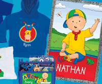 Tys Toy Box: Shop New Caillou Apparel And Gear