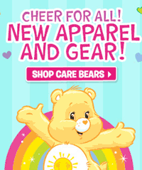 Tys Toy Box: Shop Care Bears New Apparel And Gear