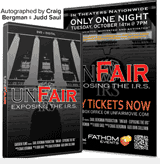 UNFAIR: Autographed DVD/Official Poster Combo For Only $29.95