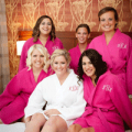 Heritage Wedding: Bridal Party Wedding Robes Waffle Weave