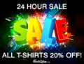 NeatoShop: 20% Off All T-shirts