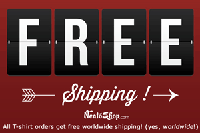 NeatoShop: Free Shipping Worldwide On All T-shirt Orders