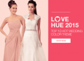 Milanoo: Shop 2015 Top 10 Hot Wedding Color Theme