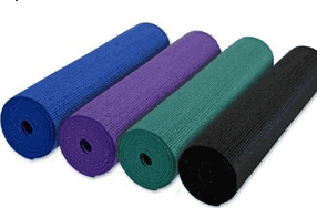 YogaDirect: Yoga Direct Anti-Microbial Deluxe 1/4 Inch Yoga Mat