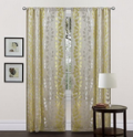 Lush Decor: 67% Off Teardrops Window Curtain
