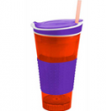 BoardwalkBuy: 57% Off Snackeezer All-In-One Snack & Drink Cup With Lid - Assorted Colors
