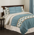 Lush Decor: 77% Off Aurora 4 Piece Comforter Set